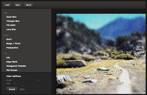 WebGL Filter